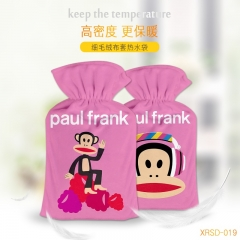 Paul Homme Cartoon Hands Pink Anime Hot-water Bag For Warm