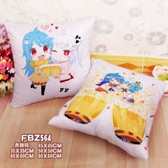 Bilibili Cartoon Soft Wholesale Printed Square Anime Pillow 45*45CM