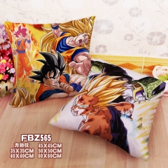 Dragon Ball Z Cartoon Soft Wholesale Printed Square Anime Pillow 45*45CM