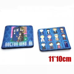 Doctor Who Cartoon Purse Wholesale Movie Anime PU Leather Wallet
