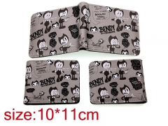 Bendy and the Ink Machine Cosplay Cartoon Purse Anime Wallet