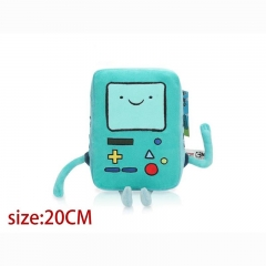 Adventure Time With Finn And Jake Game BMO Cartoon Stuffed Doll Anime Plush Toys 20cm