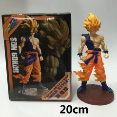Dragon Ball Z Son Goku Cartoon Wholesale Anime PVC Figure Toys With Box 20cm