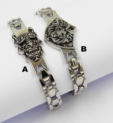 World of Warcraft Cosplay Metal Decoration Anime Bracelet