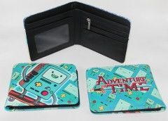 Adventure Time Anime Cartoon Fancy Cute PU Wallet