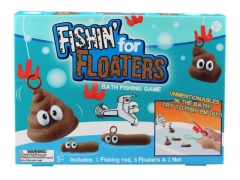 FISHING FOR FLOATERS - Kid Bathtime Game for Fun  (72pcs/carton)