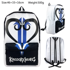 Kingdom Hearts Anime High Quality Students Backpack bag