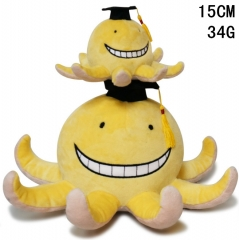 Assassination Classroom Animal Octopus Doll Anime Plush Toy