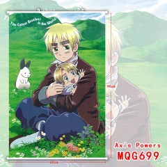 Axis Powers Hetalia Japanese Comics Cosplay Cute 3D Print Home Decoration Anime Wallscrolls 60*90CM