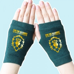 World of Warcraft Golden Lion Atrovirens Anime Comfortable Gloves 14*8CM