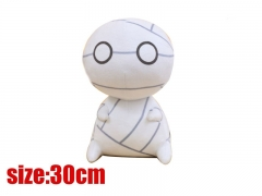 How to Keep a Mummy Cute Design White Color Doll New Arrivals Anime Plush Toy 30CM