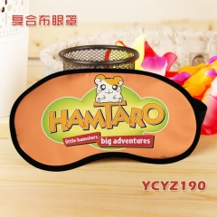 Hamtaro Color Printing Cartoon Composite Cloth Anime Eyepatch