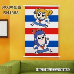 Pop Team Epic Cosplay Japanese Cartoon Anime Plastic Bar Wallscroll