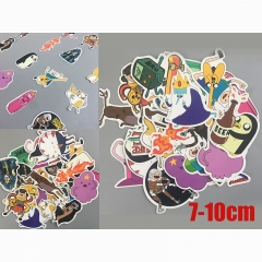 Adventure Time With Finn And Jake 25pcs Cartoon Cute Game Anime Stickers Set