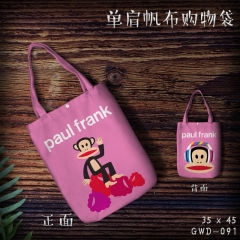 Paul Homme Cosplay Cute For Woman Packing Cartoon Anime Shopping Bag