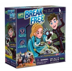Spy Code ~ BREAK FREE ~ 2-4 player Family Board Game