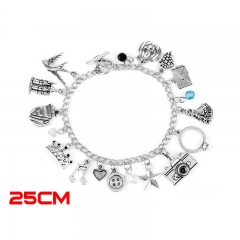 Once Upon a Time Movie New Design Fashion Jewelry Anime Alloy Bracelet 30g