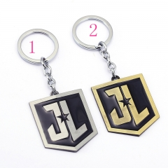 Justice League Two Colors Anime Keychain