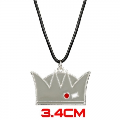 Riverdale Movie Popolar Jewelry Crown Model Pendant Anime Alloy Necklace 30g