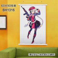 Girls Frontline Cosplay Game Anime Plastic Bar Wallscroll