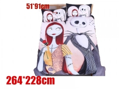 Nightmare Before Christmas Movie Bedclothes Anime Quilt Cover