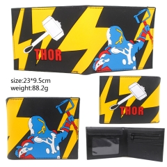 The Thor Cosplay Movie Silicone Rubber Purse Anime Wallet
