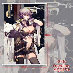 Girls Frontline Beautiful Girl Fashion Good Quality Anime Wallscrolls 60*90CM
