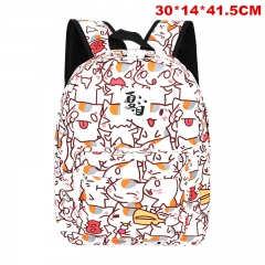 Natsume Yuujinchou Cosplay Cartoon Polyester Anime Backpack Bag