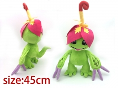 Digimon Digital Monster Cosplay Cute Cartoon Doll Palmon Anime Plush Toy