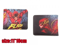 Detective The Flash Movie PU Leather Wallet