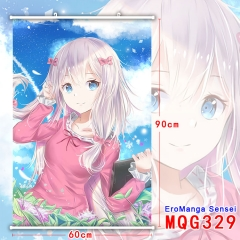 EroManga Sensei Japanese Cartoon Fancy Printd Anime Wallscrolls