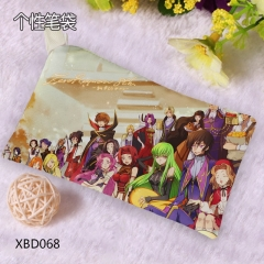 Code Geass Cosplay Cartoon Simple Pattern Anime Pencil Bag