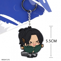 Attack on Titan Cosplay Soft Plastic Pendant Anime Keychain