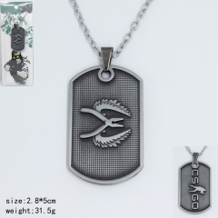 Counter Strike Popular Game Pliers Pattern Fashion Anime Alloy Necklace