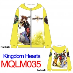 Kingdom Hearts Anime Fancy Cartoon Colorful Printed Hoodie
