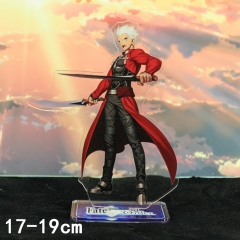 Fate Stay Night EMIYA Cartoon Toys Double Side Printed Anime Standing Plates Acrylic Figure