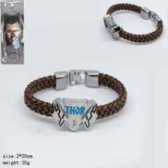 The thor Cool Style Good Quality Bracelet Anime Wristband
