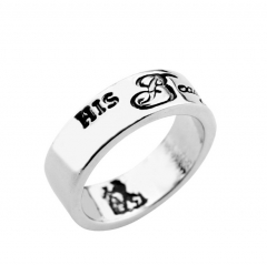 Beauty and the Beast Alloy Anime Ring(10pcs/set)