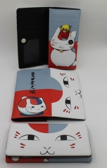 Natsume Yuujinchou Anime Cute PU Fancy Cartoon Wallet