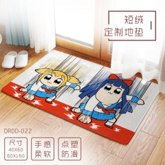 POP TEAM EPIC Cartoon Fluff Custom Wholesale Anime Carpet 40*60cm