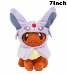 Pokemon Cosplay Espeon For Kids Doll Anime Plush Toy