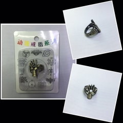 Iron Man Cosplay Movie Hollow Decoration Anime Ring