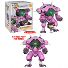 Funko POP 177# Overwatch  DVA For Kids Gift Toy Anime Figure