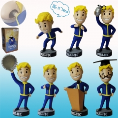 Fallout 4 Game Vault Boy Action PVC Figure Set (13-15CM)