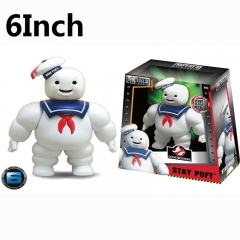 Ghostbusters Stay Puft Marshmallow Man Cartoon Toys Wholesale Anime Figure 6Inch