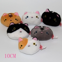 Pusheen The Cat Anime Plush Pendant(10pcs/set)
