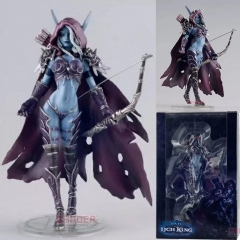World of Warcraft Cosplay Game Sylvanas Windrunner Collection Model Toy Anime PVC Figure