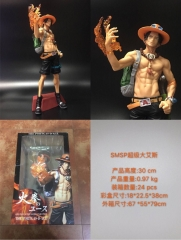 One Piece Cosplay Collection Cartoon Large Size Ace Model Toy Anime Figure
