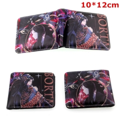 Land of the Lustrous Cosplay Cartoon Folding PU Purse Anime Wallet