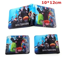 Hotel Transylvania Cosplay Cartoon Folding PU Purse Anime Wallet